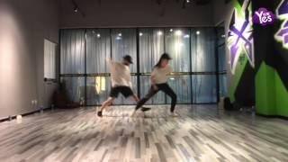 【當月】帥到炸裂!劉亦菲楊洋合體尬舞練習室版