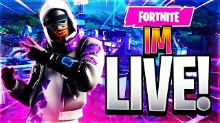 FORTNITE STREAM! (COME WATCH) INTERACTIVE STREAMER!