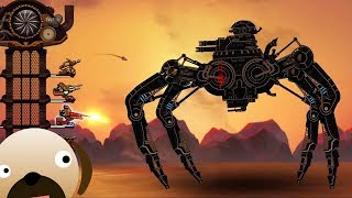 FIGHTING MASSIVE STEAMPUNK ARMIES - Steampunk Tower 2 Gameplay |New Strategy Game|