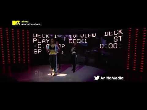 Anitta - Vai Malandra  Mtv En Vivo