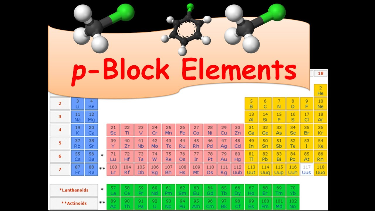 Chemistry p- block elements part 1 CBSE Class 12 XII - YouTube
