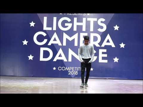 RAHUL MAKWANA | SOLO | SENIOR |  LIGHTS CAMERA DANCE | 2018 | RAJKOT