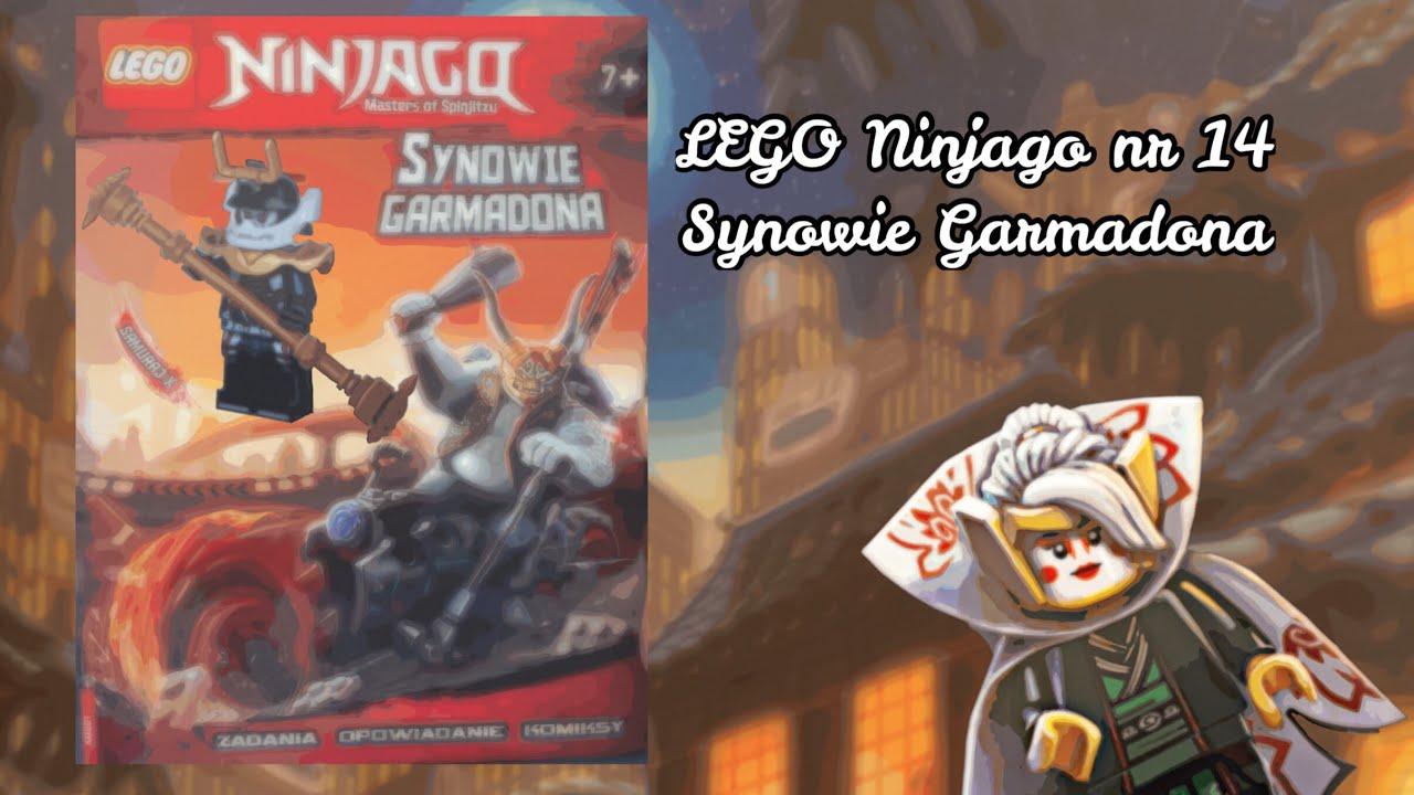 Lego Ninjago Synowie Garmadona Książka Od Wydawnictwa Ameet Z