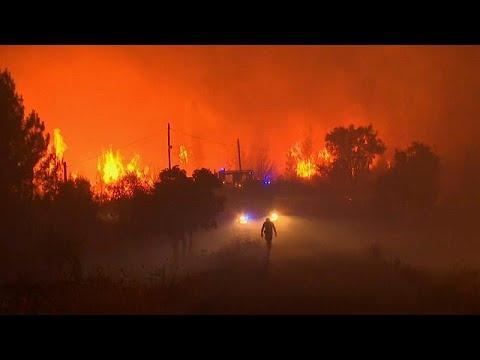 شاهد:  نشر أكثر من ألف رجل إطفاء لإخماد حرائق في وسط البرتغال…  - نشر قبل 9 ساعة