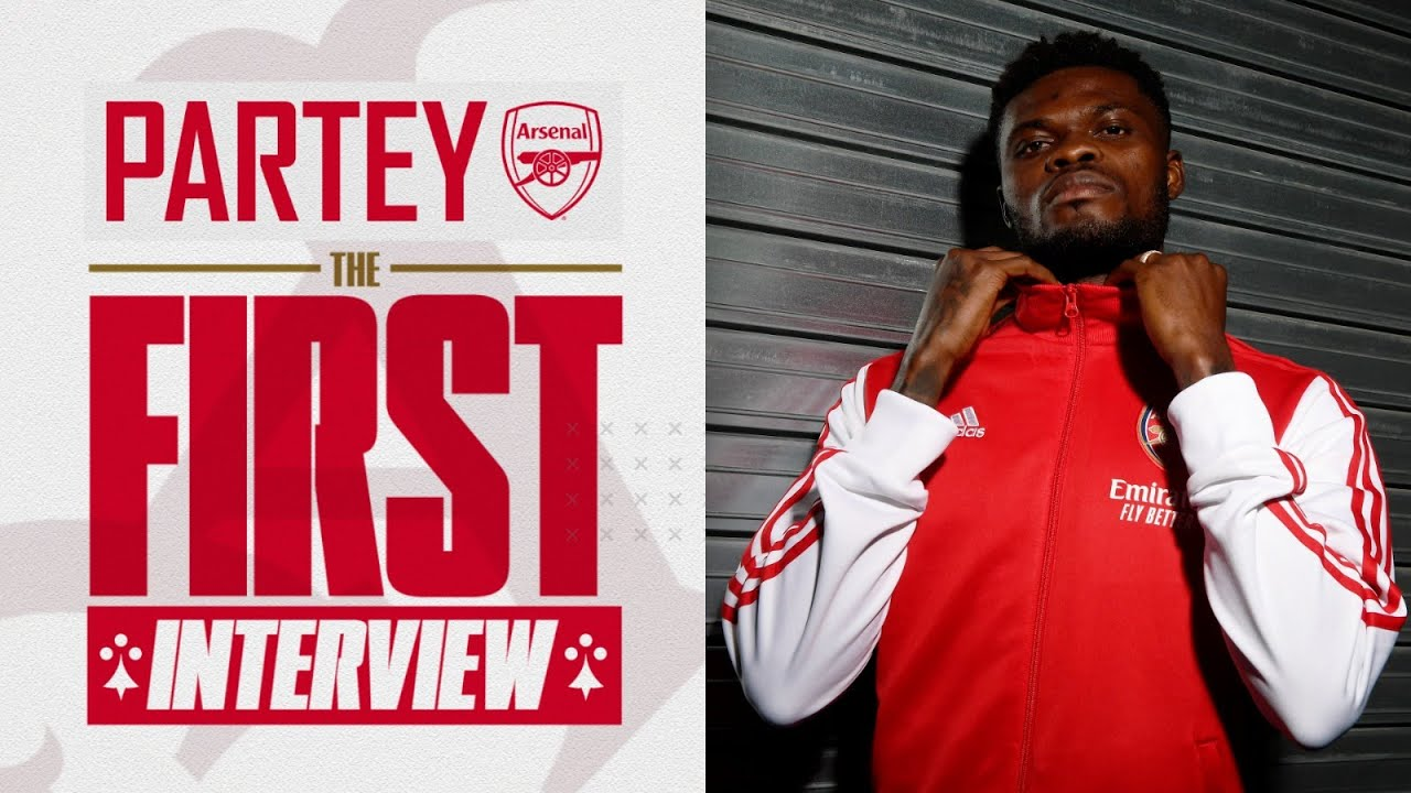 Thomas Partey is here! | First Arsenal interview - YouTube