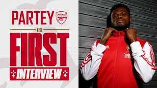 Thomas Partey is here! | First Arsenal interview
