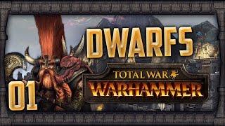 [1] Total War: Warhammer (Dwarfs) Campaign Walkthrough w/ SurrealBeliefs