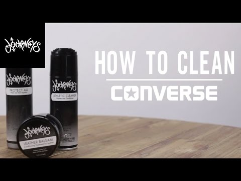 Journeys | How to Clean Your Converse