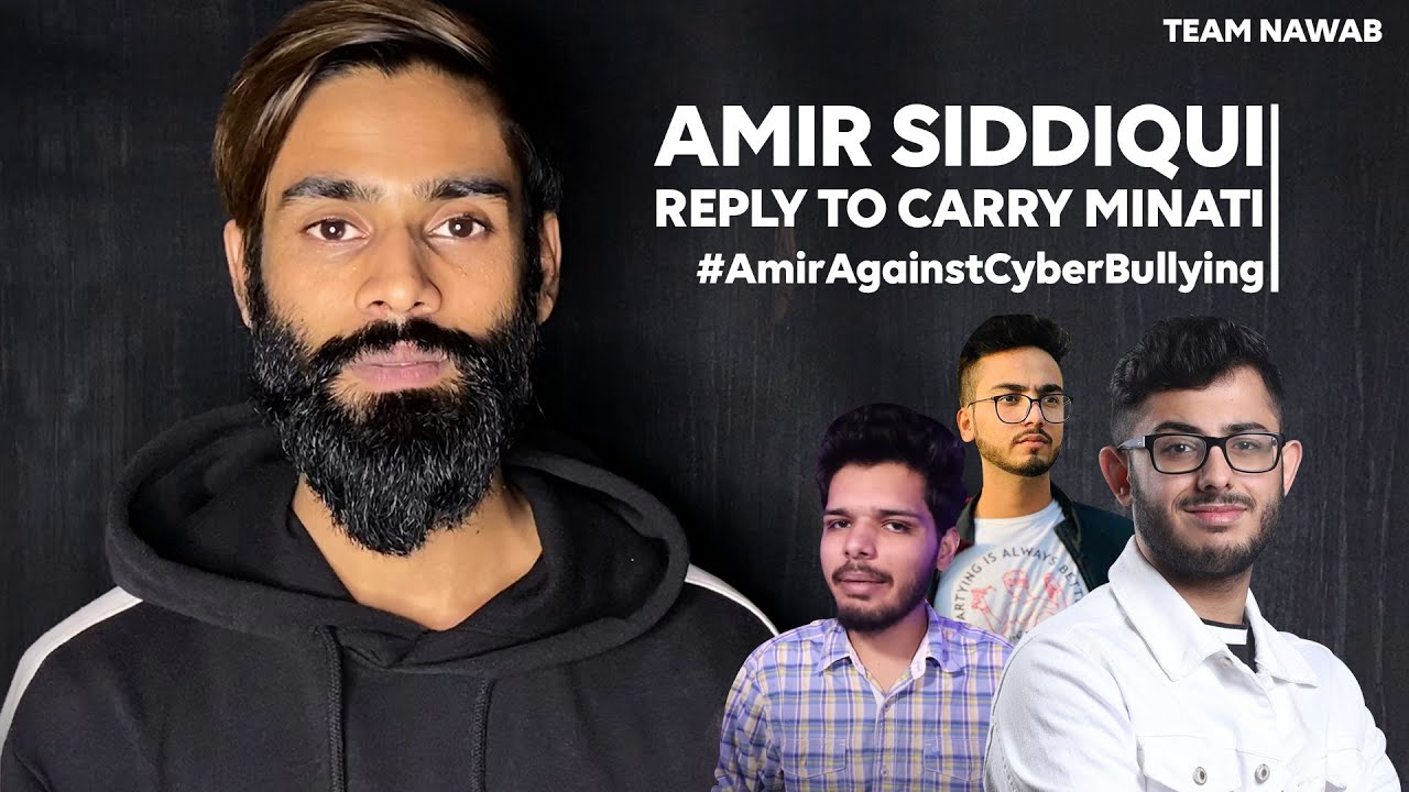 Amir Siddiqui reply to Carry | YouTubers vs Tiktokers | Spread Peace, Remove Hate