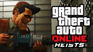 CRAZY FLEECA BANK HEIST! (GTA 5 Heist Funny Moments)