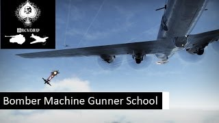 War Thunder - Bomber machine gunner school (Realistic Battles)