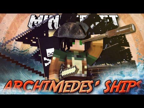 Minecraft ITA - Mod:  COSTRUISCI LA TUA NAVE/AEREO -  Astronavi, Mongolfiere, Archimedes' Ships