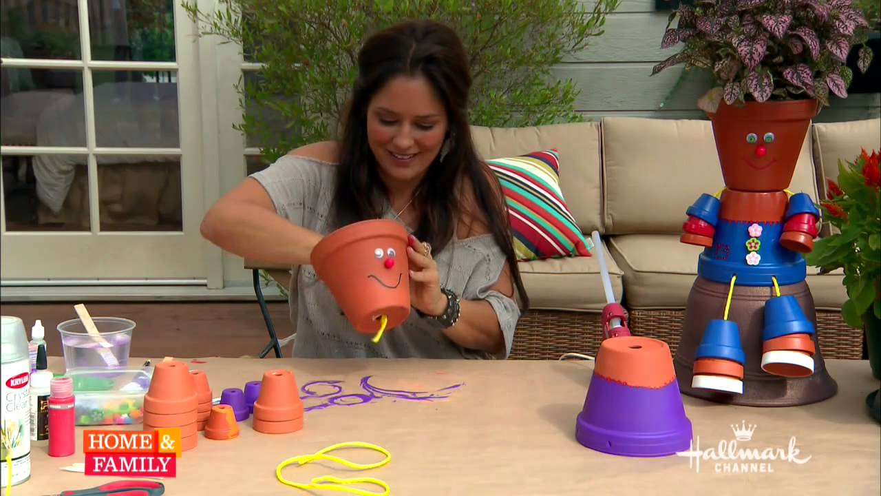 Tanya Memme Diy How To Make Flower Pot People Youtube