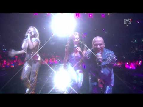 Alcazar - Blame It On The Disco (Live @ Melodifestivalen 2014 semi - REPRISE)