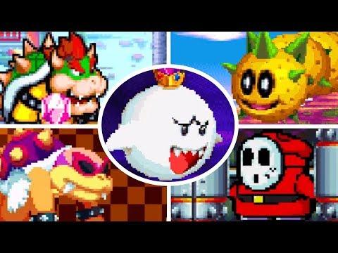 Super Mario Mania - All Bosses & Ending