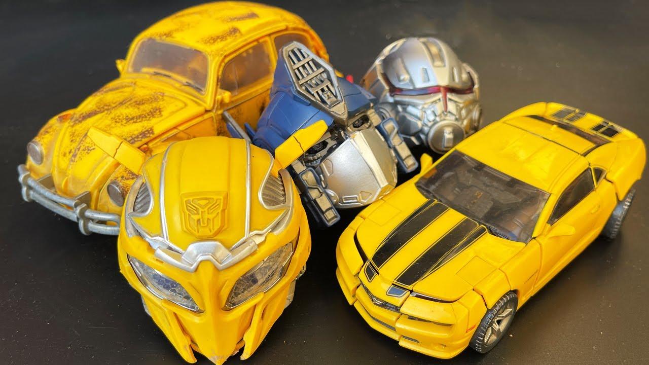 Best Bumblebee, Optimus Prime, Blitzwing Transformers Compilation Car & Plane Crash Robot Toys!