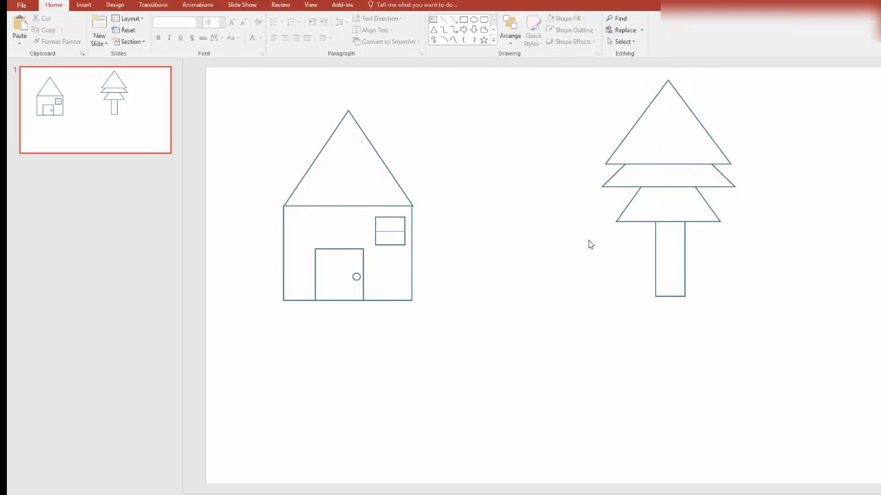 whiteboard animation effects in powerpoint part 1 youtube