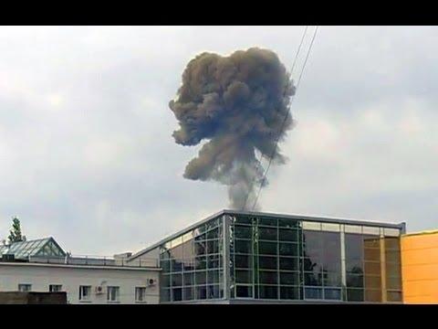 Первый взрыв в Чапаевске  Первый взрыв на полигоне в Чапаевске Чапаевск видео Чапаевск 2013
