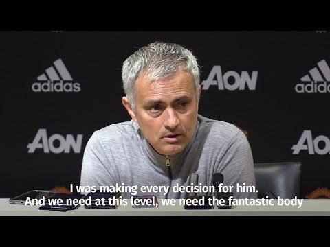 "Jose Mourinho - ""I Was Making Every Decision For Luke Shaw"""