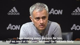 Jose Mourinho - I Was Making Every Decision For Luke Shaw