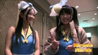 町田ご当地アイドル「ミラクルマーチ」かなぴょんの自己紹介です。出番...