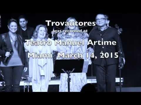 Marisela Verena - TrovAutores - Teatro Manuel Artime, Miami, Florida