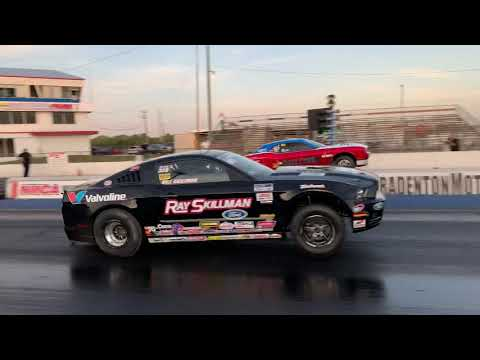 Heads-Up Race! Ford Mustang Cobra Jet vs. Dodge Challenger Drag Pack Which is Faster?