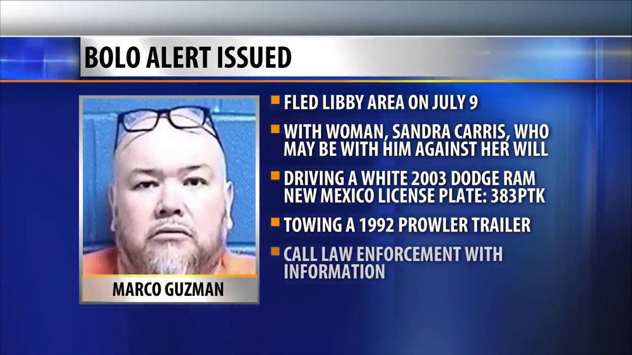 BOLO Alert issued for MT man traveling with woman who may be in ...