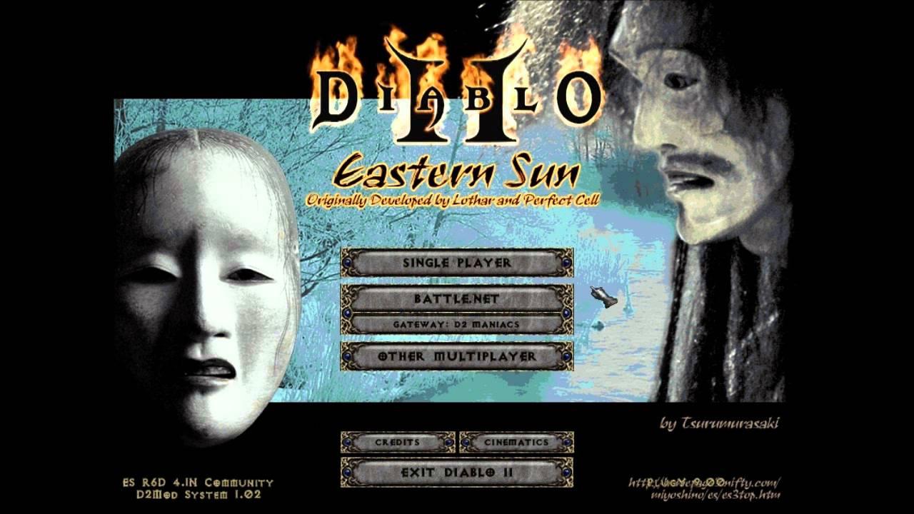 Diablo ii: lord of destruction game mod eastern sun v3. 6d.