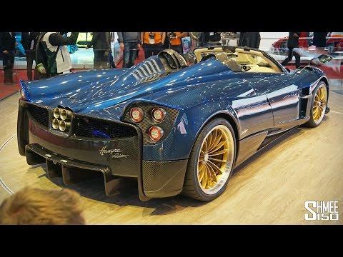 Pagani Huayra Roadster INSIDE-OUT!