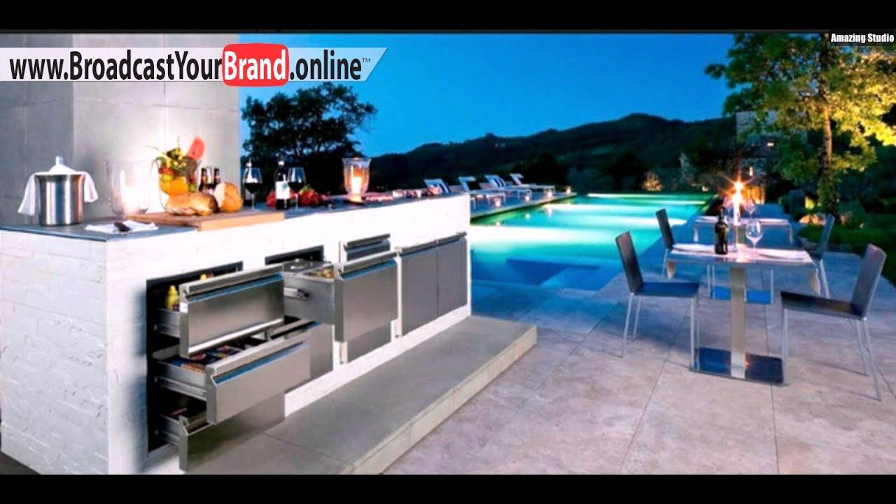 Outdoor Küche Utensilien : Kühlschrank outdoor küche napoleon oasis outdoorküche 3 x