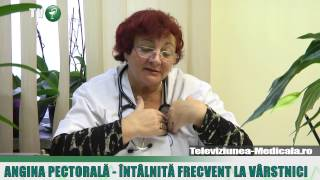 Angina pectorala - cauze, simptome, tratament