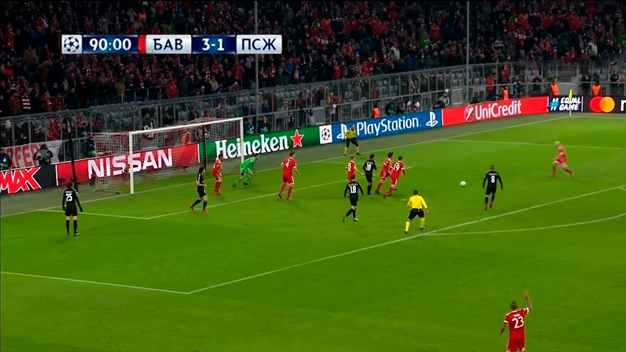 Download Bayern Munich vs PSG 3-1 | Champions League 2017/18
