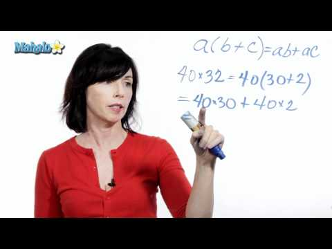 How to Use the Distributive Property (ex.1)