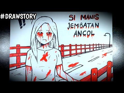 Asal Usul Hantu Si Manis Jembatan Ancol || DRAWSTORY