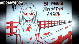 Asal Usul Hantu SUSTER GEPENG - Cerita Pasien Yg Dirawat Oleh Hantu || DrawStoryHorror.