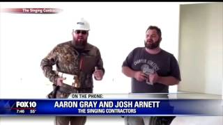 Singing Contractors go viral