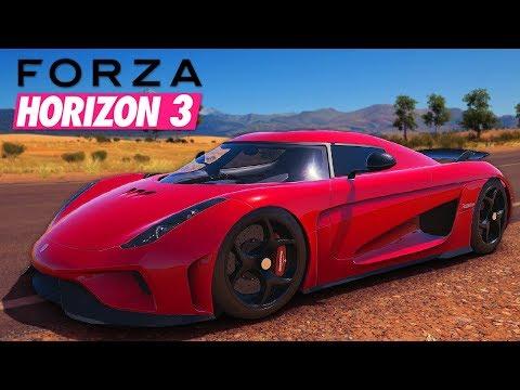 350+ KM/U ACHTERUIT! - Forza Horizon 3 #33