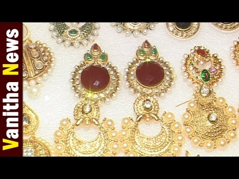 Jarman Silver Jewellery, Arabic Jewelry Designer Collections || 07-08-16 || Vanitha News || Part 3