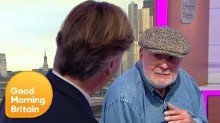 Britain's Oldest Stuntman Rocky Taylor 'Punches' Richard Madeley | Good Morning Britain