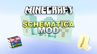 Minecraft - Schematica Mod (Auto-Builder) + Installation - Tutorial 1.9