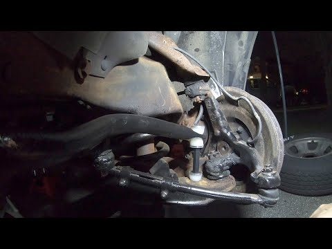 Reinstalling Sway Bar New Bushing And Links Astro Van