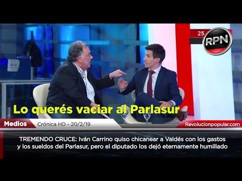 TREMENDO CRUCE: Valdés dejó eternamente humillado a Iván Carrino