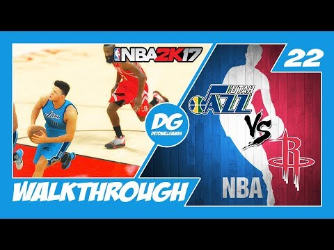 NBA 2K17   My Career Parte 22 – Mantendo o Ritmo! Jazz vs Rockets