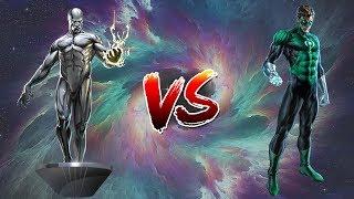 Surfista Prateado vs Lanterna Verde Hal Jordan