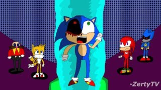"""Sonic.exe Nightmare Beginning """"Forcing the demon out of Sonic"""" - Speedpaint"""