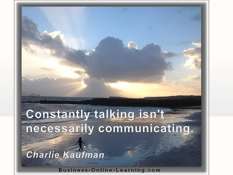 Communication Quotes For Business