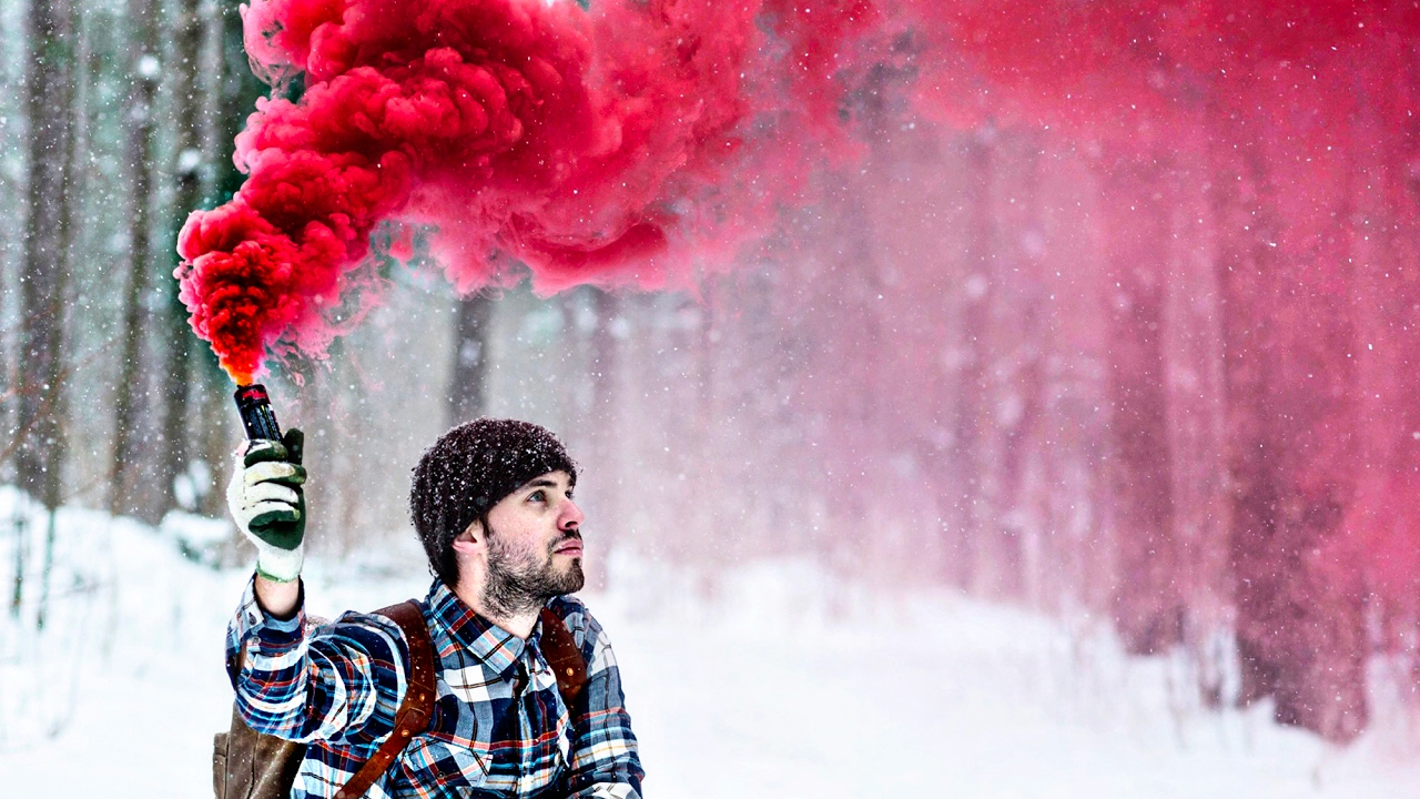 cool burning smoke bombs