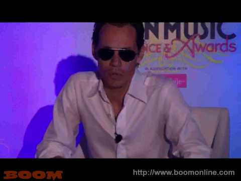 MARC ANTHONY Billboard Conference 2010 Puerto Rico