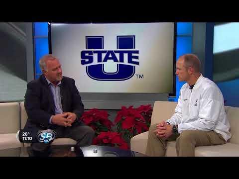 Utah State Head Coach Matt Wells previews Arizona Bowl